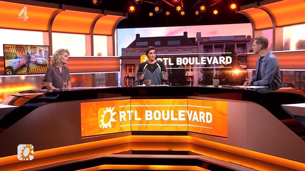 RTL Boulevard vanuit de studio in Hilversum.