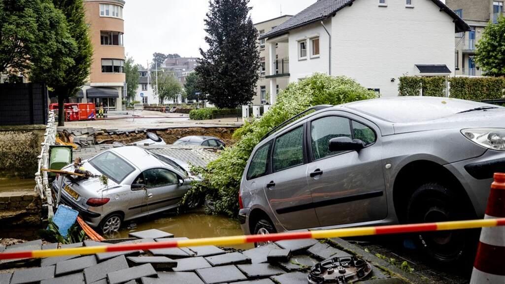 De schade in Valkenburg is enorm.