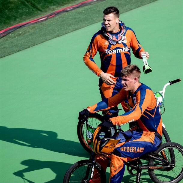 Jelle en Niek tijdens de Spelen in Rio.