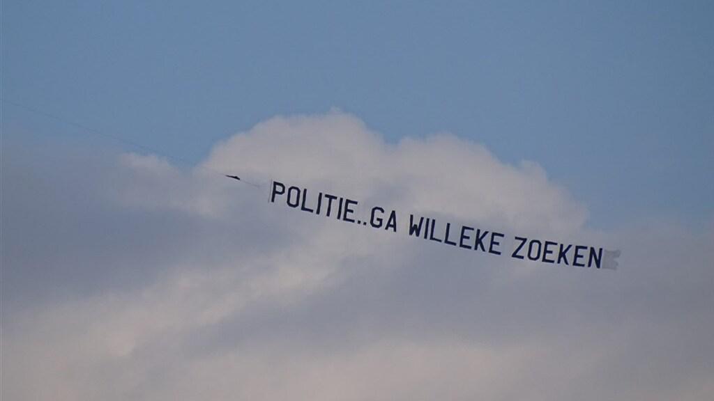 Een boodschap voor de politie, over de sinds 1992 vermiste tiener Willeke Dost.