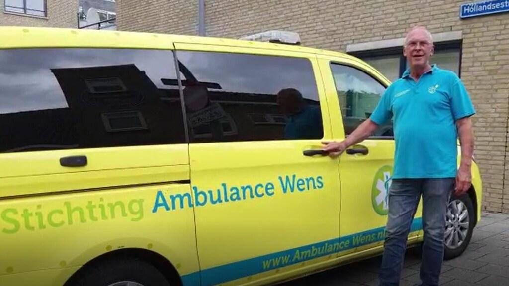 Joost Dekker is vanaf de oprichting betrokken bij Stichting Ambulance Wens.
