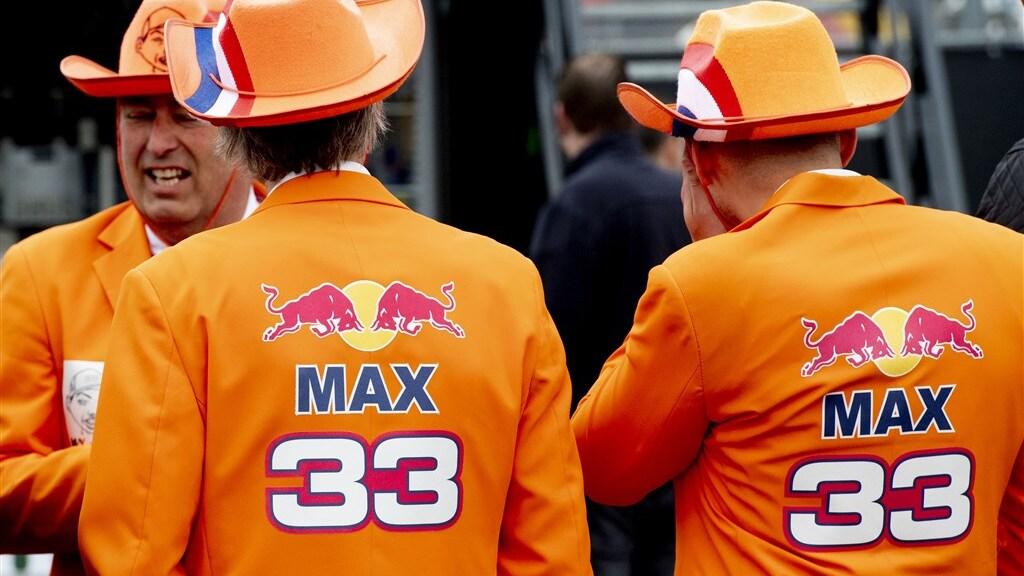 Fans van Max Verstappen.