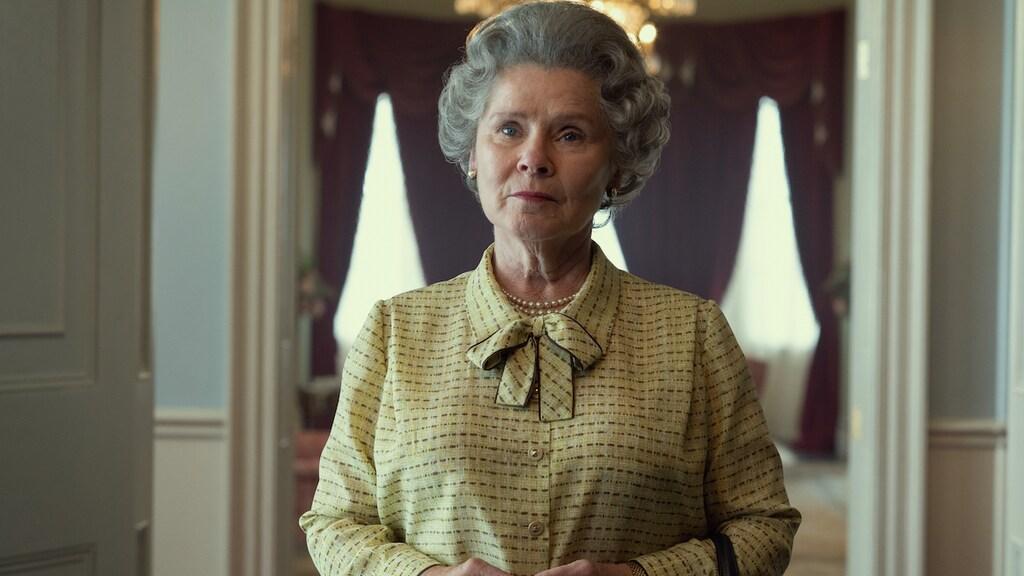 Imelda Staunton als koningin Elizabeth