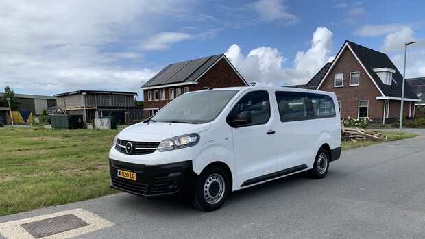 Duurtest Opel Vivaro E elektrische bus: vakantierit