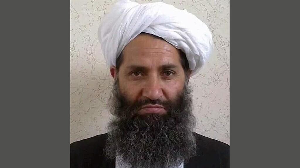 De 'opperste leider' van de taliban: Hibatullah Akhundzada.