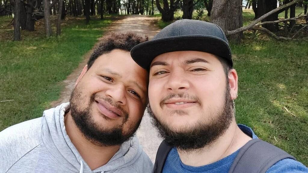 David en Ryan verwachten over een half jaar hun eerste kind.