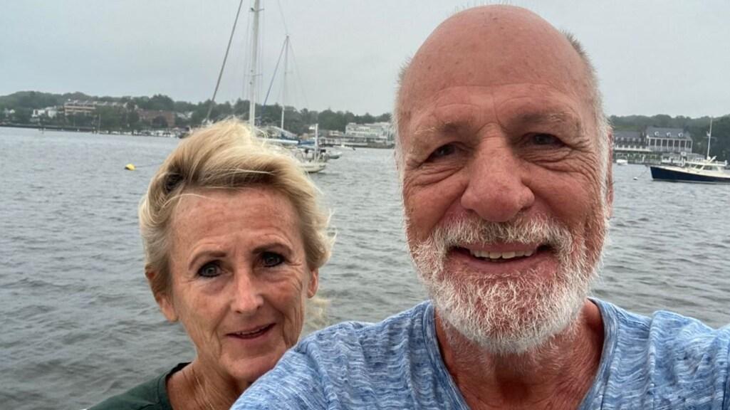 Monique en haar man Dick
