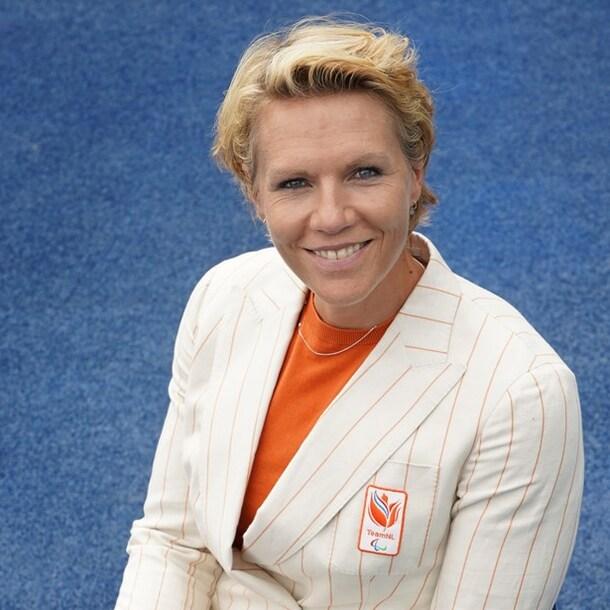 Esther Vergeer, chef de mission van Paralympisch TeamNL.