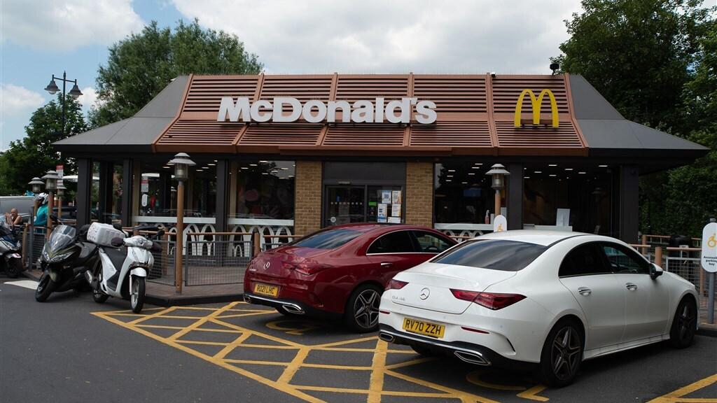 Een van de 1300 Britse vestigingen van McDonald's.