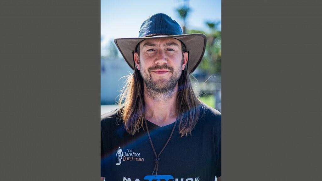Als 'Barefoot Dutchman' is Anton inmiddels een beroemdheid in Australië.