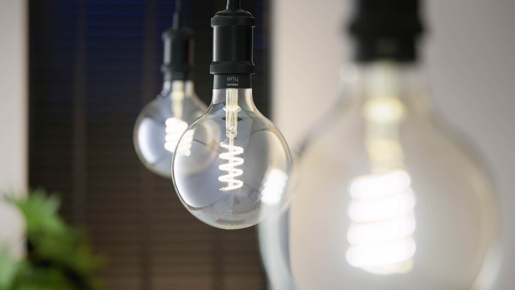 De nieuwe Filament-peertjes kunnen van kleurtemperatuur veranderen.