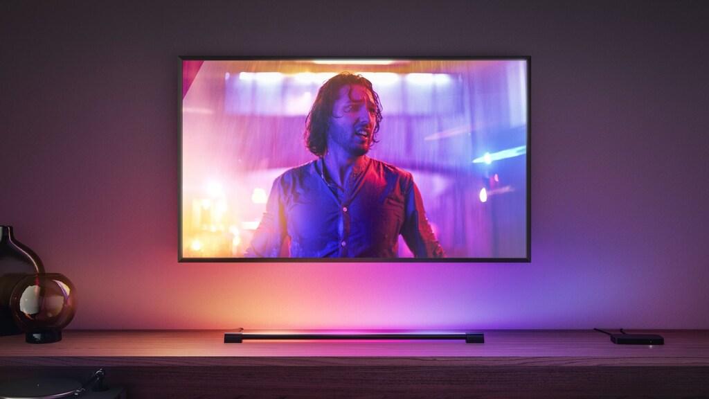 De Light Tube, voor onder de tv.
