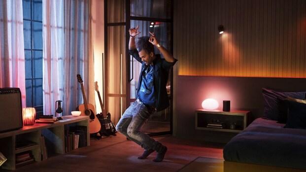 Philips Hue werkt samen met Spotify: elke lamp een discolamp