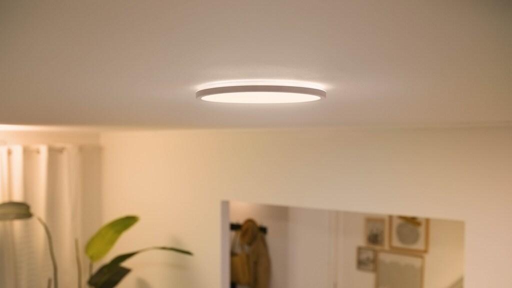 De WiZ SuperSlim plafondlamp.