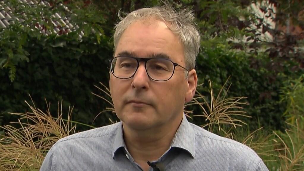 OMT-lid Marc Bonten in gesprek met RTL Nieuws.