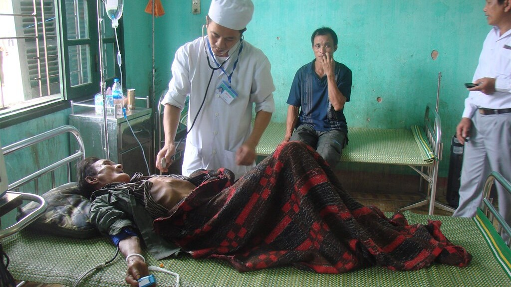 In 2013 werd de 82-jarige Ho Van Thanh medisch onderzocht.
