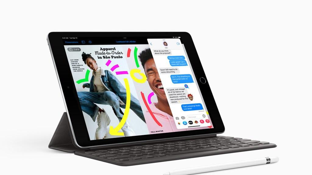 De nieuwe snellere iPad werkt met alle bestaande accessoires.