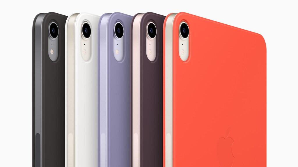 De nieuwe kleuren en hoesjes van de iPad mini.