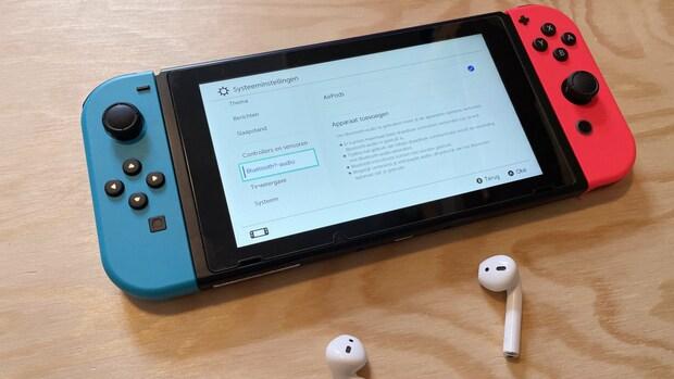 Nintendo Switch ondersteunt eindelijk draadloze oordoppen en speakers