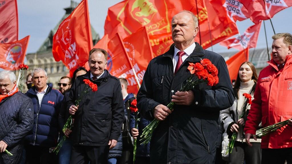 Oppositie die in Rusland wel wordt toegestaan: de communistische partij.