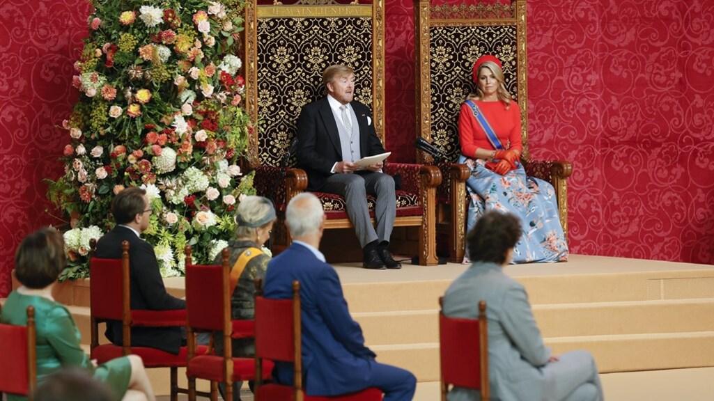 Koning in troonrede: Nederland blijft goed land om in te leven