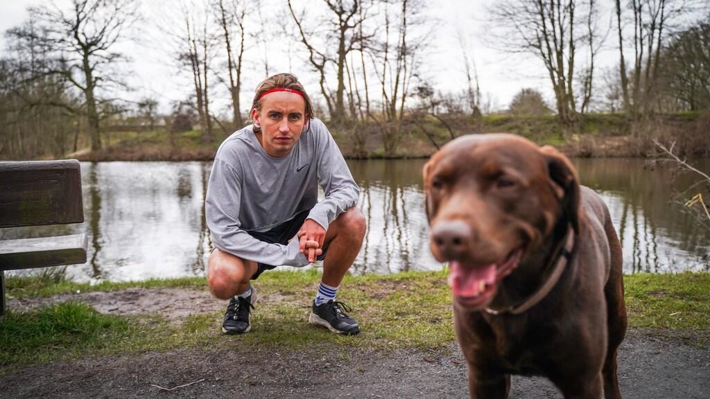 Jim gaat de marathon van Berlijn lopen op 26 september.