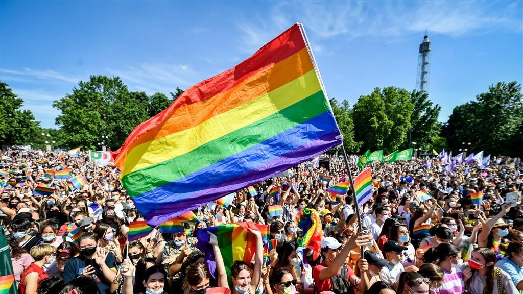 En ook in Milaan gingen duizenden mensen de straat op.