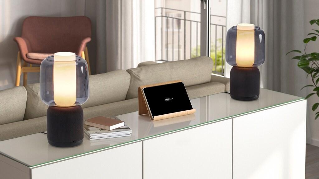 Twee speakers kunnen als stereo-paar gekoppeld worden.