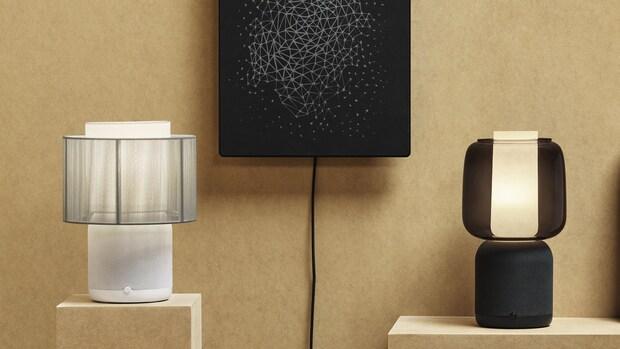 IKEA en Sonos onthullen nieuwe lampspeaker met verwisselbare kap