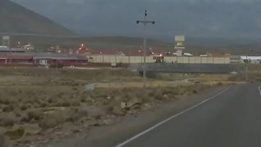 De middeleeuwse gevangenis in Peru.