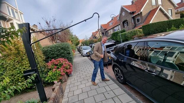 Is dit de oplossing voor de rondslingerende kabels van elektrische auto's?