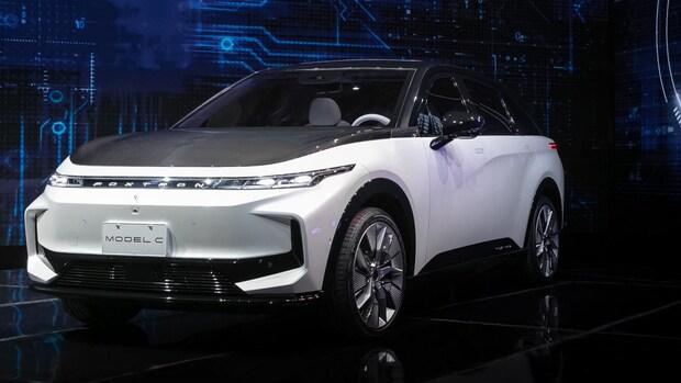 iPhone-fabrikant Foxconn onthult eerste elektrische auto's