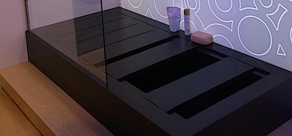 Briljante douche bad combi ideaal voor kleine badkamers - Douche kleine ruimte ...