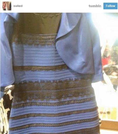 Jurk blauw zwart of
