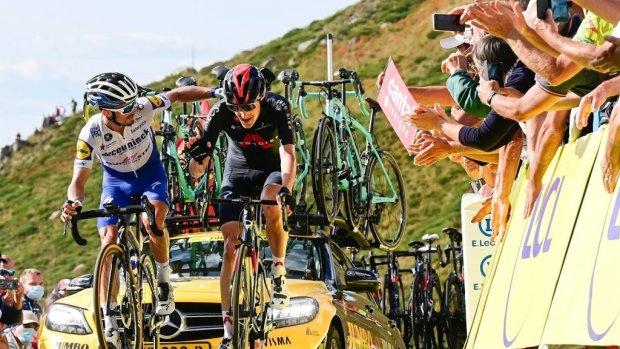 Geen publiek meer bij finishes Tour de France