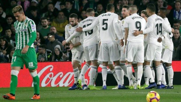 Real Madrid neemt punten mee uit Sevilla