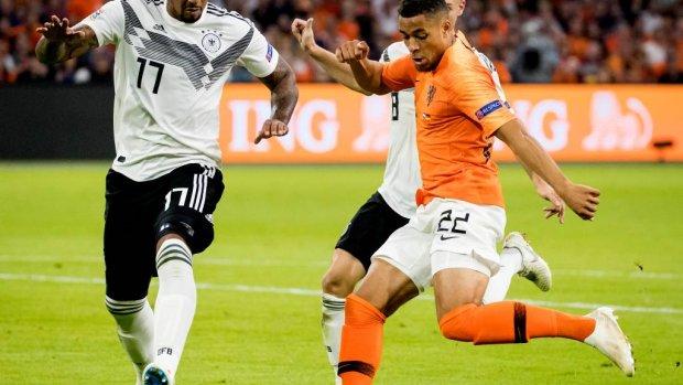 Groeneveld debuteert voor Oranje