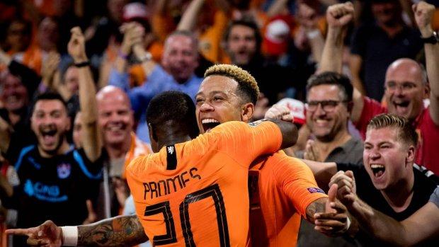 Nederlands elftal verslaat Duitsland met 3-0