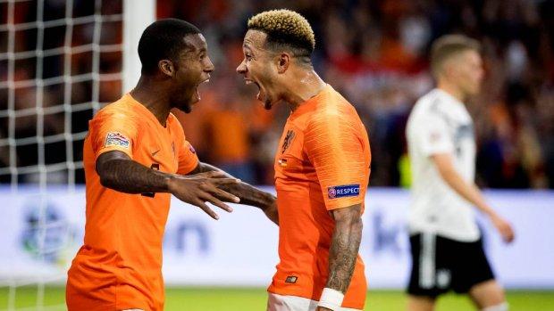 Historische winst tegen Duitsland is opsteker voor Oranje