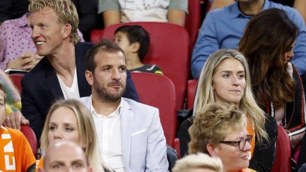Van der Vaart en Kuijt bondsridders van KNVB