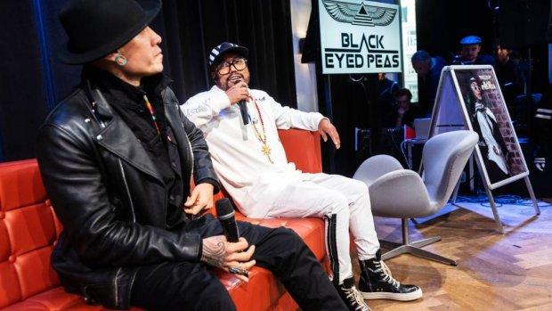Black Eyed Peas blij terug te zijn