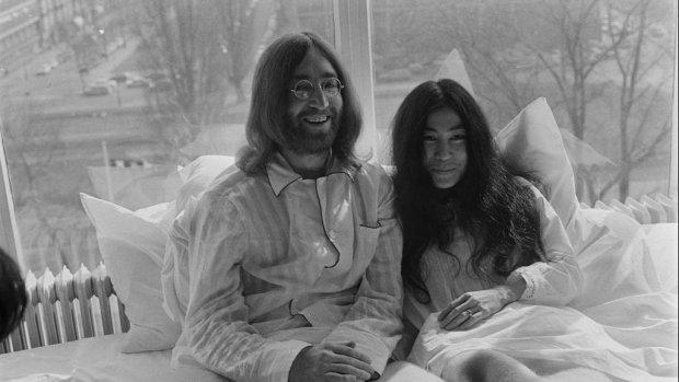 Lennon-film Imagine te zien op het witte doek