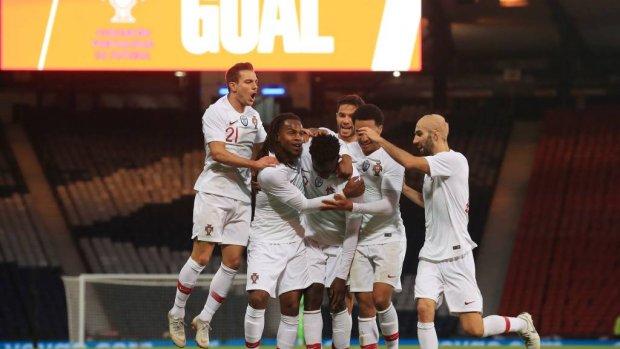 Portugal wint weer zonder Ronaldo
