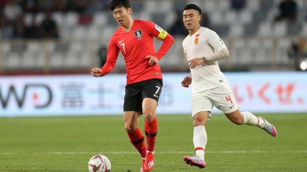 Zuid-Korea wint met Heung-Min