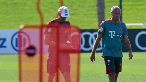 Bayern hervat achtervolging zonder Robben