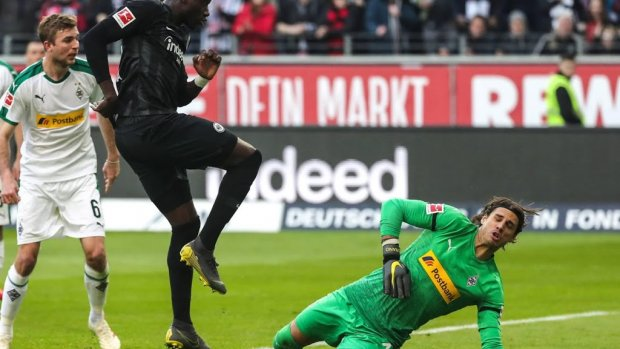 Mönchengladbach pakt punt bij Frankfurt