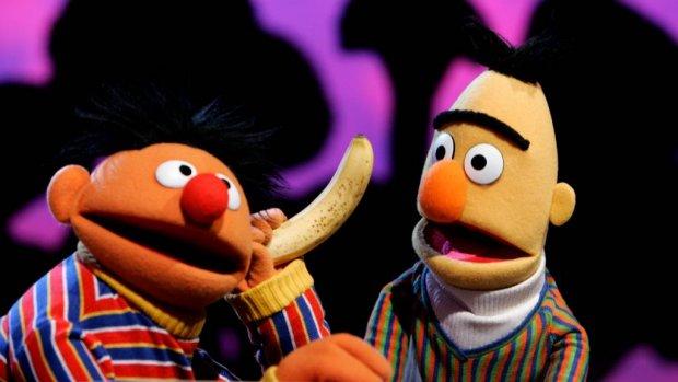 Echt waar: Bert en Ernie zijn een setje