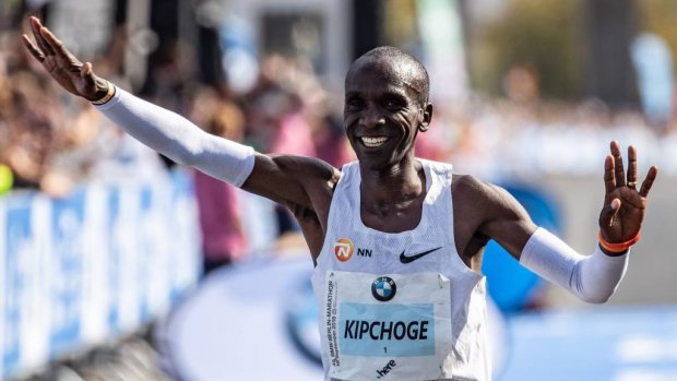 Kipchoge: 'Marathon onder 2 uur gaat ooit lukken'