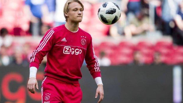 Dolberg mogelijk al bij selectie Ajax