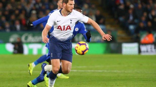 Tottenham verlengt contract Vertonghen